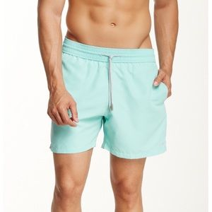 Le Club Mint Swim Shorts